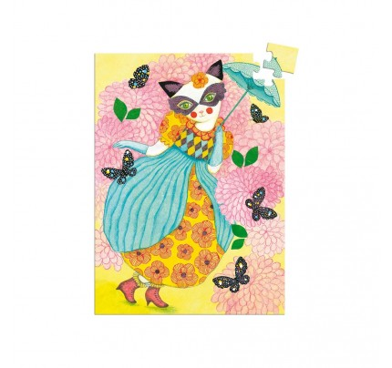 "Mini Puzzle Djeco ""Miss Tigri"", 60 ks"