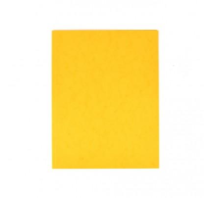 Odkladacia mapa OM0, bez chlopní, A4, prešpán, žltá