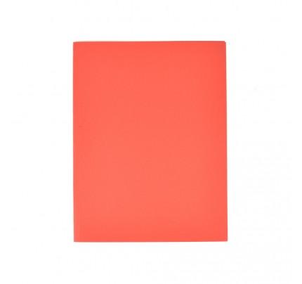 Odkladacia mapa OM0 LUX, bez chlopní, A4, 250 g, červená