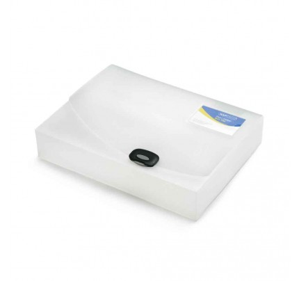 Box na spisy Rapesco, PP, A4, transparentný