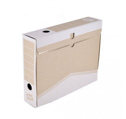 fe2005218 Box archívny 33 x 26 x 7,5 cm, biely