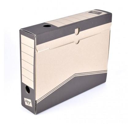 Box archívny 33 x 26 x 7,5 cm, čierny