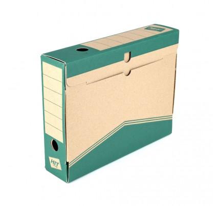 Box archívny 33 x 26 x 7,5 cm, zelený