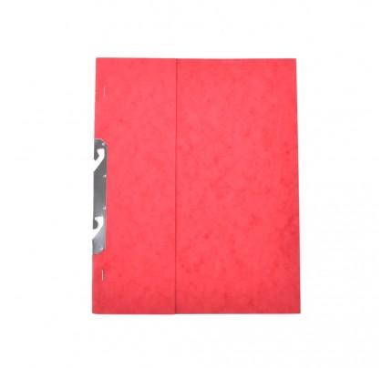 Rýchloviazač RZP, A4, prešpánový, červený