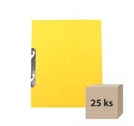 Rýchloviazač RZC, A4, prešpánový, žltý, 25 ks