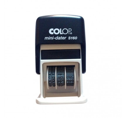 Dátumovka Colop Mini dater S 160/03, modrá poduška
