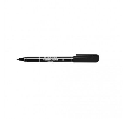 Popisovač permanentný Centropen 2846, 1 mm, čierny