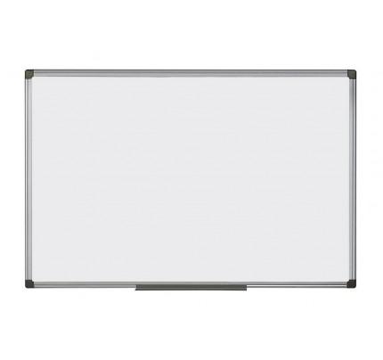 Biela magnetická tabuľa v hliníkovom ráme, 45 x 60 cm