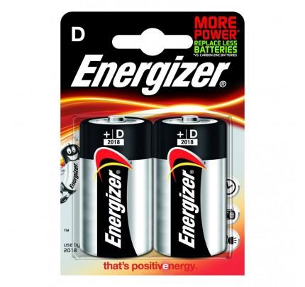 Batérie Energizer Base D Mono LR20, 1,5 V, alkalické, 2 ks