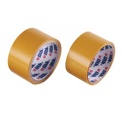 Obojstranná PP lepiaca páska, 50 mm x 10 m
