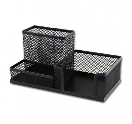 Drôtený stojan kombinovaný, 200 x 100 x 100 mm, čierny