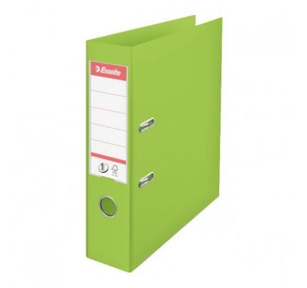 Zakladač pákový Esselte No.1 Power VIVIDA, A4, celoplastový, 7,5 cm, zelený