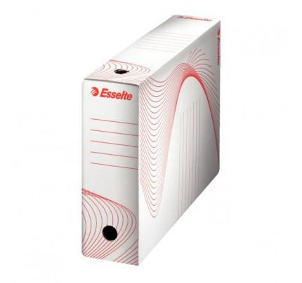 Box archívny Esselte Standart, 10 cm, biely
