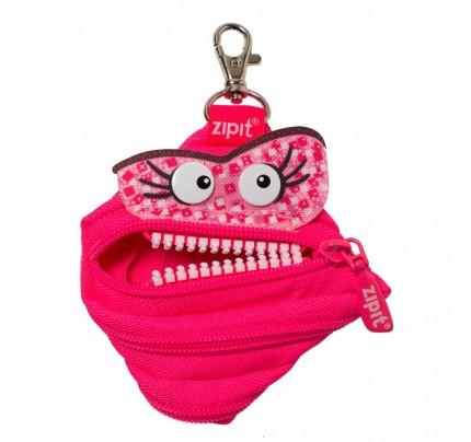 "Puzdro ZipIt Talking Monstar ""Dazzling Pink"""