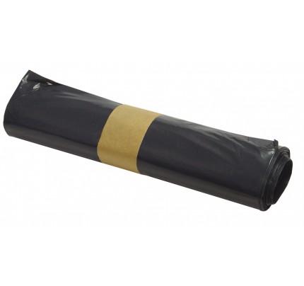 Polyetylénové vrecká do odpadkového koša, 60 x 80 cm, 50 litrov, čierne, 25 ks