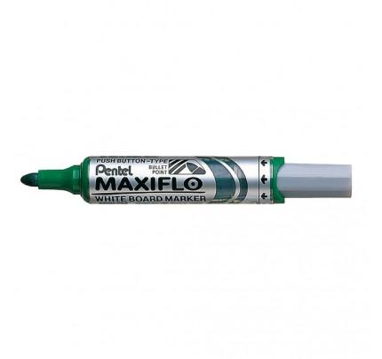Popisovač na tabule Pentel Maxiflo MWL5M-D, 6 mm, zelený