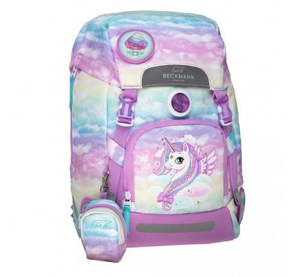 """Anatomická školská taška Beckmann """"Girls – Unicorn 2020"""""""