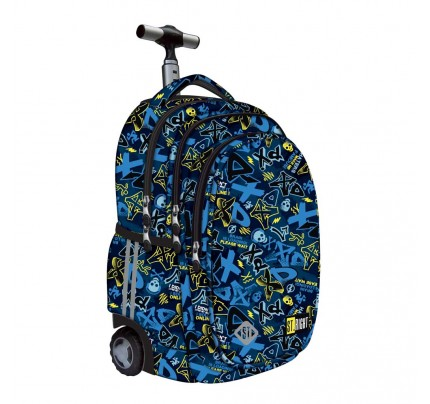 "Študentský batoh s kolieskami Trolley ""xD ART., 2020"""