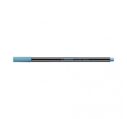 Popisovač STABILO Pen 68 metallic, 68-841, metalický modrý