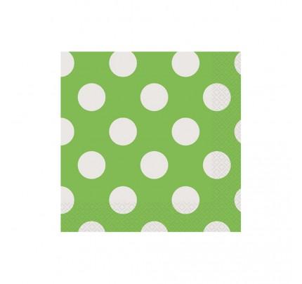 """Servítky """"zelené bodky"""", 16 ks"""