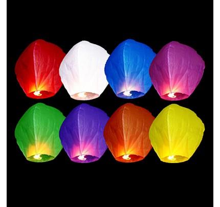 Lampión šťastia, multicolor