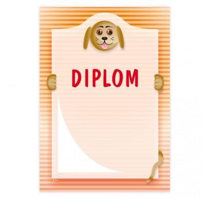"Diplom univerzálny ""psík"""