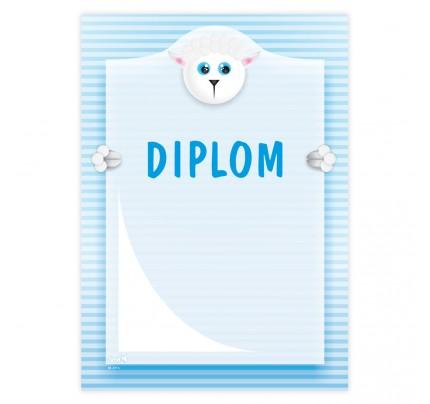 """Diplom univerzálny """"ovečka"""""""