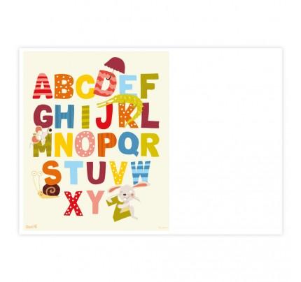 "Diplom ""farebná abeceda"""