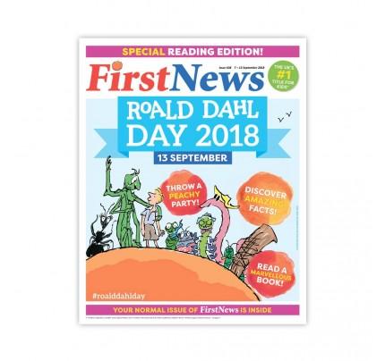 Anglické noviny pre deti a mladých ľudí First News – číslo 1 (638/2018)