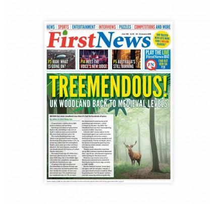 Anglické noviny pre deti a mladých ľudí First News – číslo 6 (708/2020)