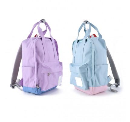 Batoh Languo, pastelové farby, mix motívov
