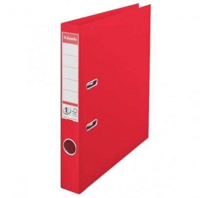 Zakladač pákový Esselte No.1 Power VIVIDA, A4, celoplastový, 5 cm, červený
