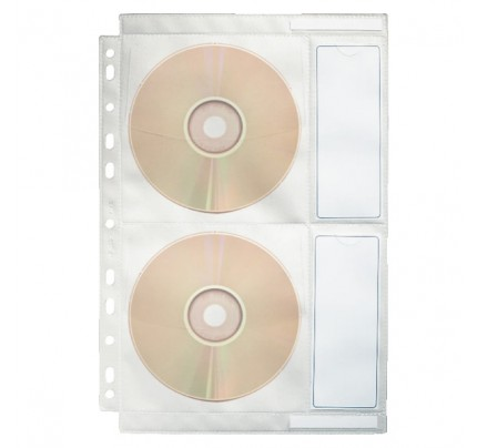 Euroobal na CD/DVD nosiče Esselte, A4, 10 ks
