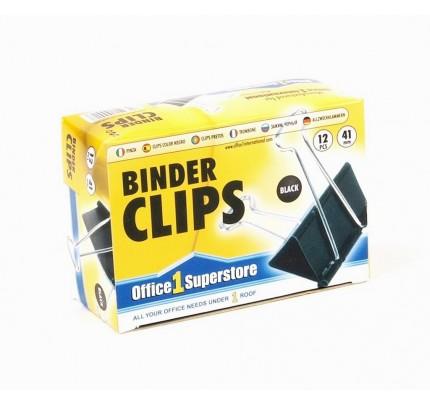Binder klipy 41 mm, 12 ks