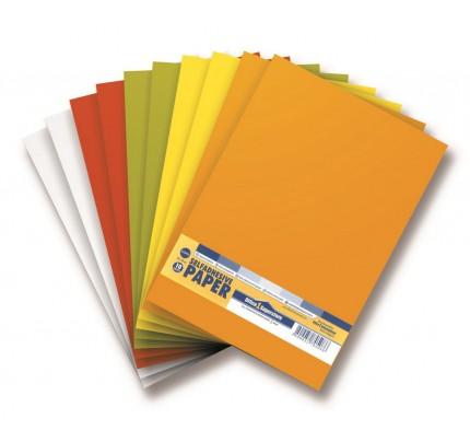 Etikety PRINT, 200 x 300 mm, farebný mix , 10 hárkov