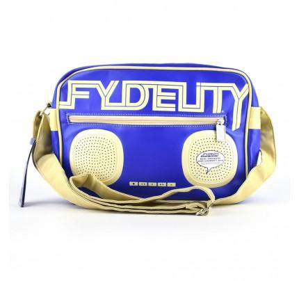 "Taška na rameno Fydelity ""Namesake G-Force"", modrá"