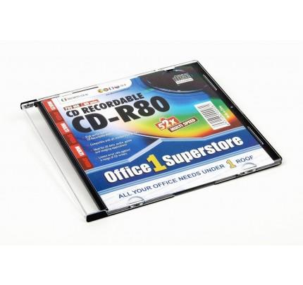 CD-R O1S, 700 MB, 52x, tenký obal