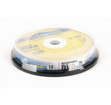 DVD-R O1S, 4.7 GB, 16x, cake 10 ks