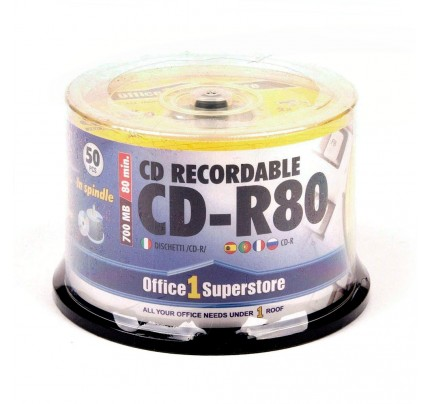 CD-R O1S, 700 MB, 52x, cake 50 ks