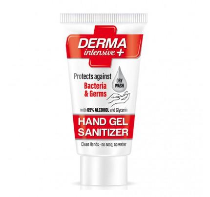 Dezinfekčný gél Derma Intensive+, 75 ml, s glycerínom na hydratáciu pokožky