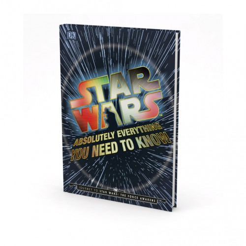 """Kniha v anglickom jazyku """"Star Wars™ – Absolutely Everything You Need To Know"""""""