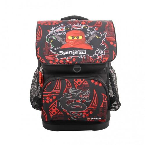"""Súprava anatomickej školskej tašky """"LEGO®  NINJAGO Team Ninja, Optimo"""" a batôžka na prezuvky"""