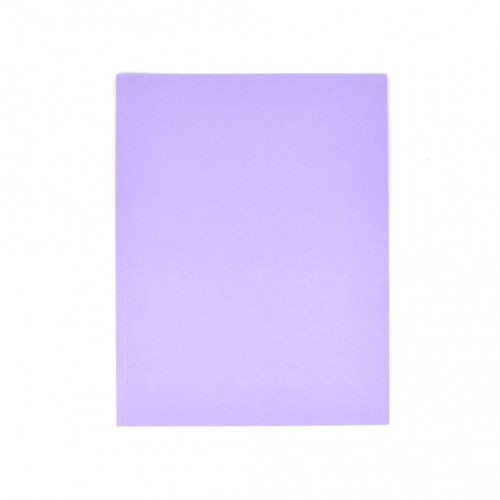 Odkladacia mapa OM0 LUX, bez chlopní, A4, 250 g, fialová