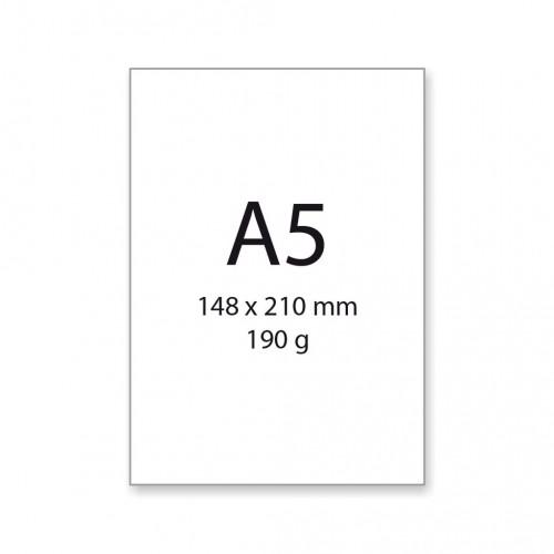 Výkres A5, 190 g, 20 hárkov