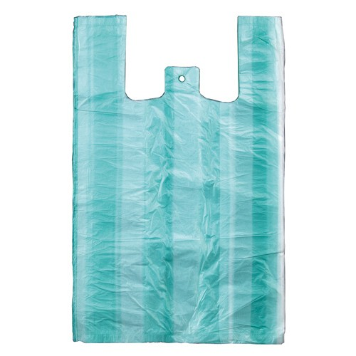 Taška mikroténová, 30 + 16 x 55 cm, 10 kg, 100 ks v bloku