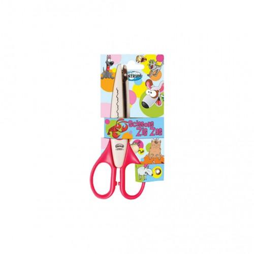 "Kontúrovacie nožnice ""zig-zag"", 15 cm, mix farieb"