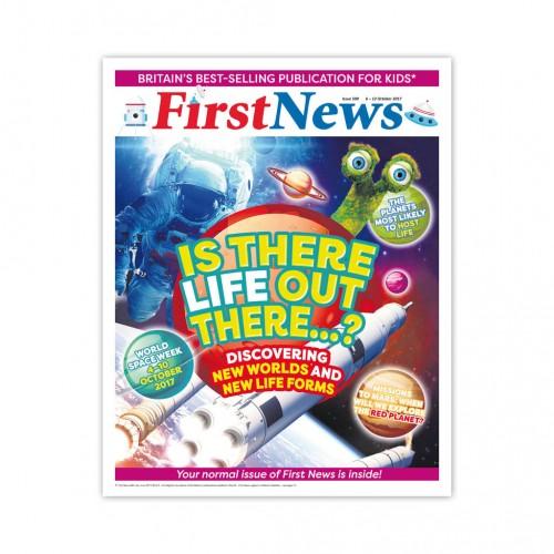 Anglické noviny pre deti a mladých ľudí First News – číslo 2 (590/2017)