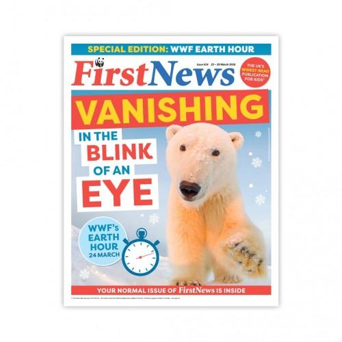 Anglické noviny pre deti a mladých ľudí First News – číslo 8 (614/2018)