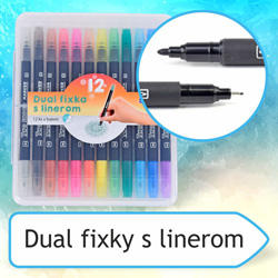 dual fixky s linerom