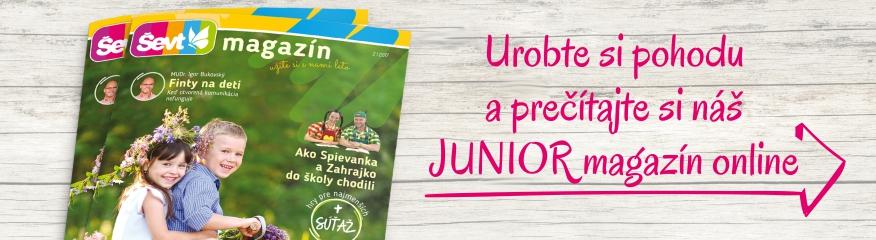 junior magazín
